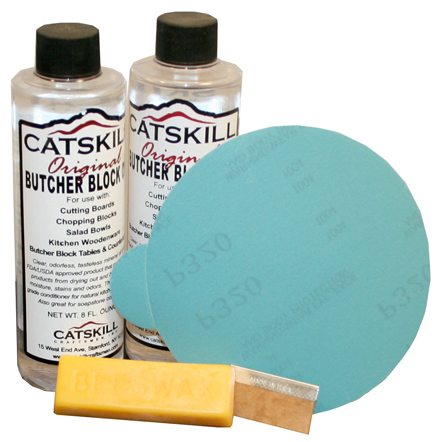 catskill craftsmen butcher block care kit
