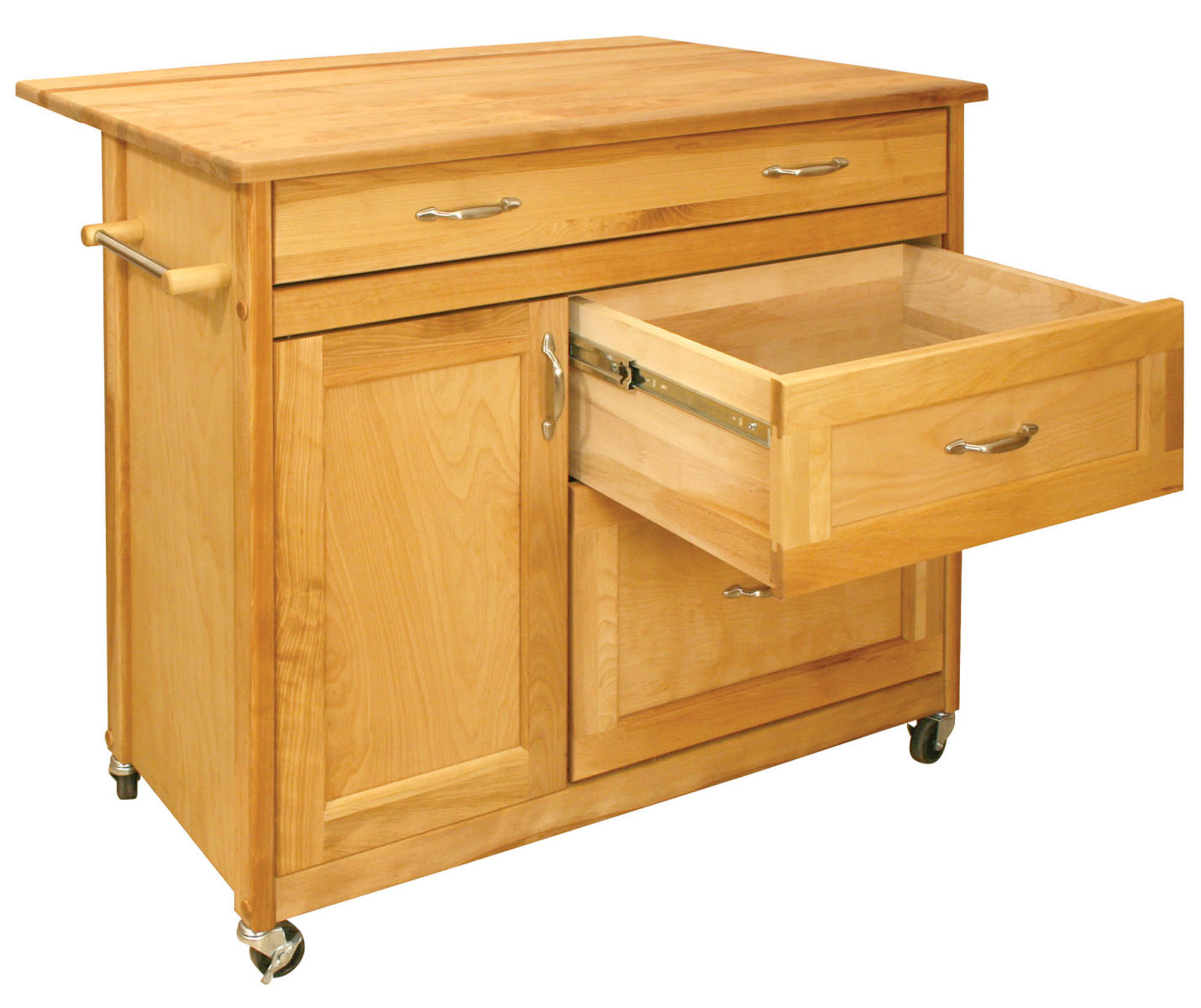 catskill craftsmen mid sized drawer island model 1521