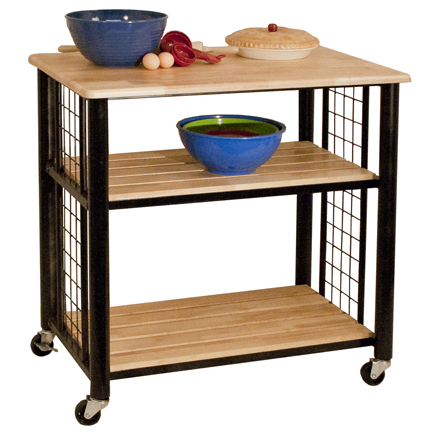 Catskill Craftsmen Contemporary Kitchen Cart Model 80047