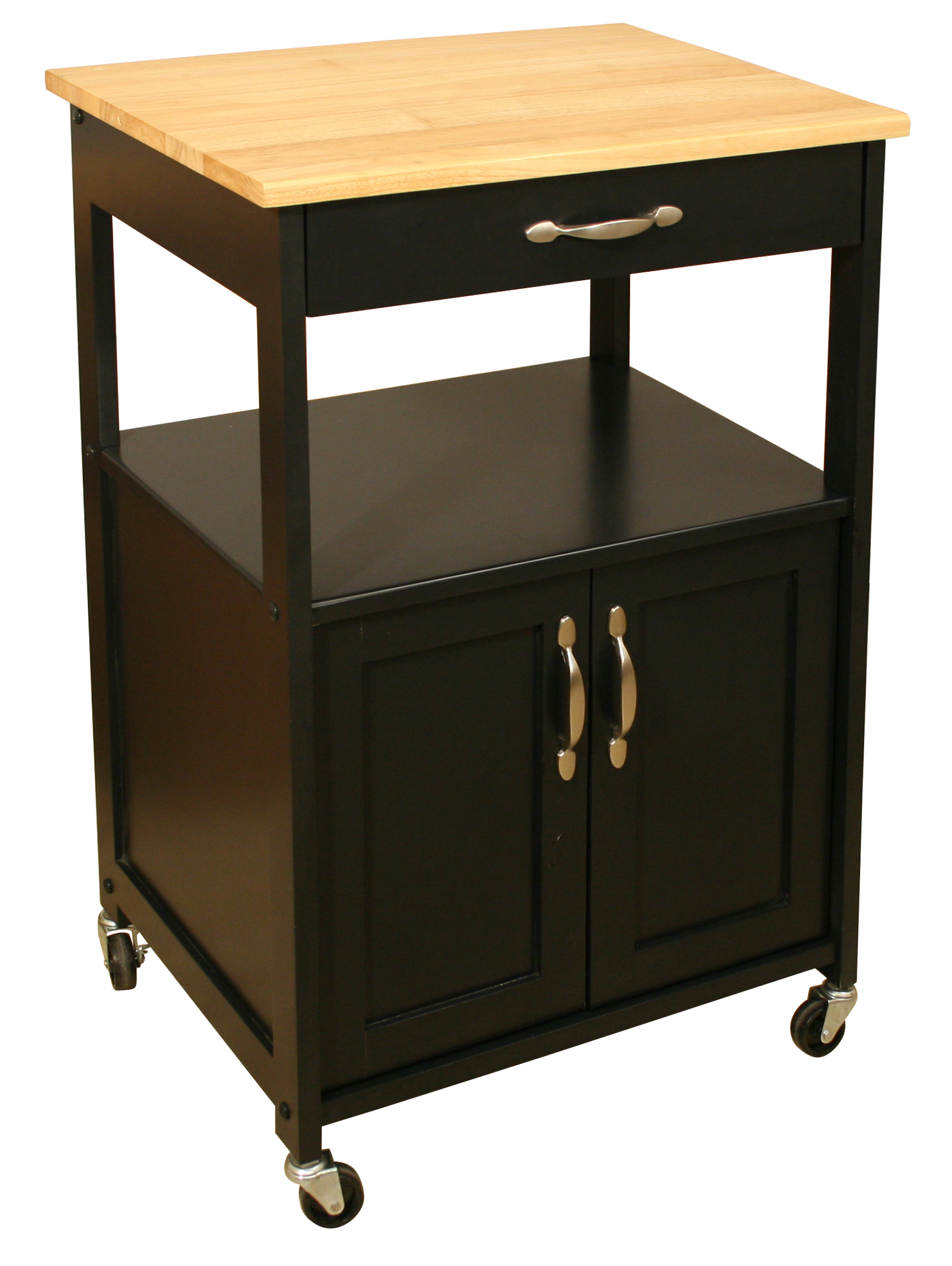 catskill craftsmen kitchen trolley white or black