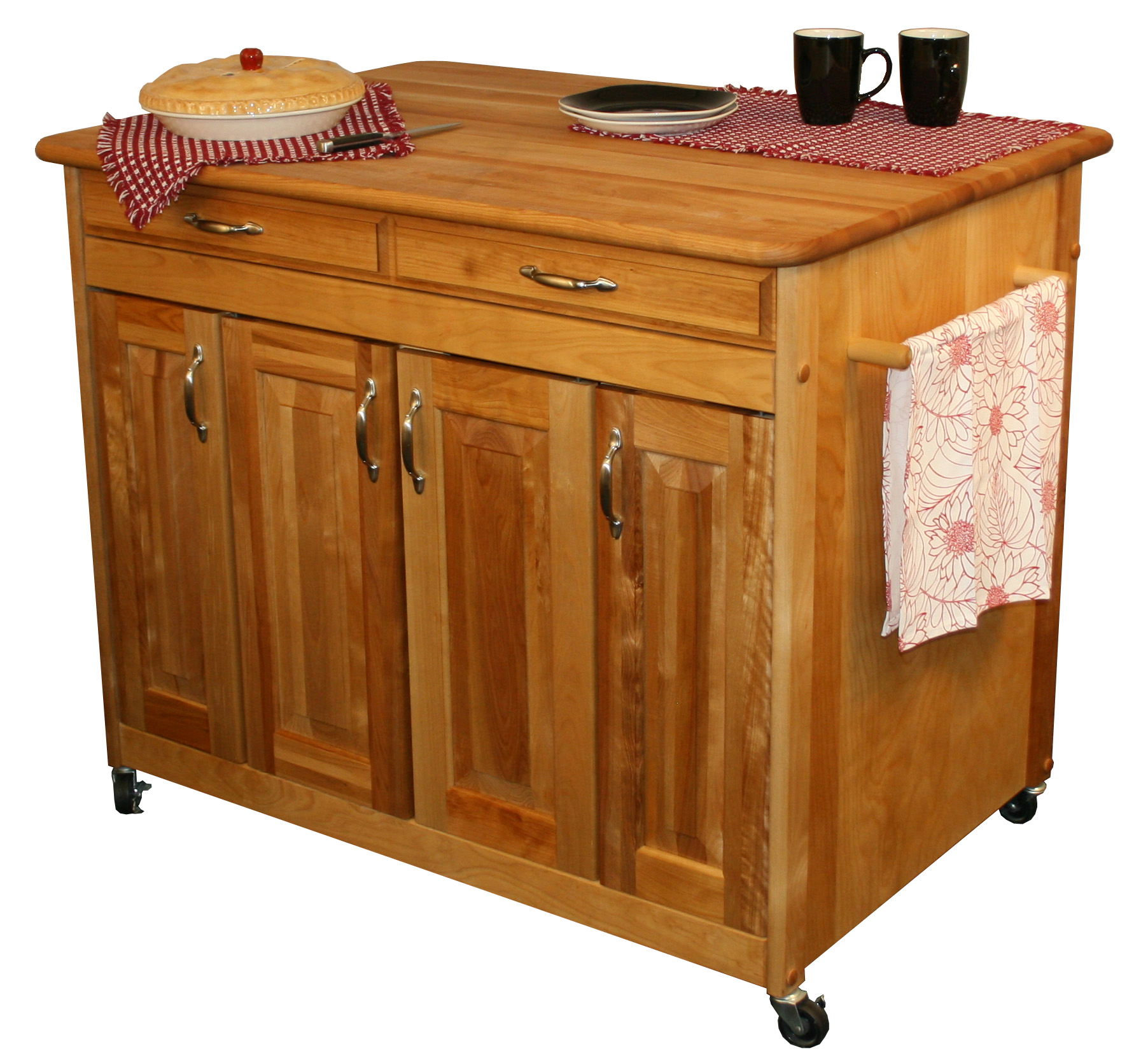Catskill Craftsmen Butcher Block Work Center Plus Model 54230